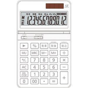 その他 (まとめ)AURORA 中型電卓 12桁卓上タイプ ホワイト DT700TXW 1セット(3台)【×5セット】 ds-2309728