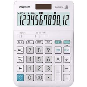 その他 (まとめ)カシオ W税率電卓 12桁 デスクタイプDW-200TC-N 1台【×5セット】 ds-2309730