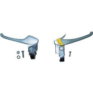 その他 (まとめ)TRUSCO THR-5503用ブレーキレバー 左右セット THR-5503BKE 1組【×5セット】 ds-2310605
