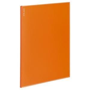 その他 (まとめ)コクヨ ポケットファイルα(ノビータα)固定式 A4タテ 12ポケット 背幅3mm オレンジ ラ-NF12YR 1セット(10冊)【×5セット】 ds-2311171