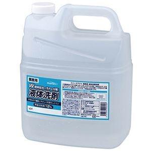 その他 (まとめ)熊野油脂 ファーマアクト 液体洗濯洗剤業務用 4L 1セット(4本)【×3セット】 ds-2311744