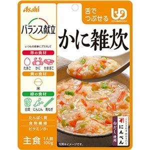 その他 (まとめ)アサヒグループ食品 バランス献立かに雑炊 100g 1セット(24パック)【×3セット】 ds-2312066