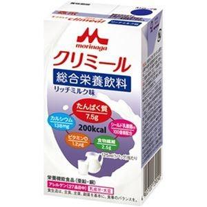 その他 (まとめ)森永乳業 エンジョイクリミールリッチミルク味 125ml 1セット(24本)【×3セット】 ds-2312096