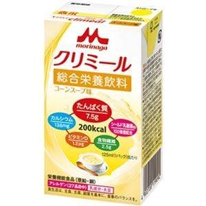 その他 (まとめ)森永乳業 エンジョイクリミールコーンスープ味 125ml 1セット(24本)【×3セット】 ds-2312100