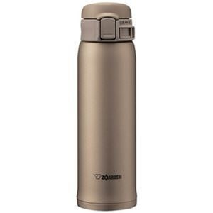 その他 (まとめ)象印 ステンレスボトル SM-SE型48サイズ(0.48L)ベージュゴールド SM-SE48-NZ 1本【×3セット】 ds-2312213