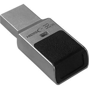 その他 ハイディスク指紋認証機能式セキュリティUSBメモリ 32GB HDUF131N32GFP3 1個 ds-2289401