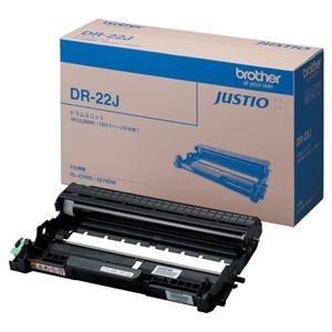 その他 ブラザー ドラムユニット DR-22J 1個 ds-2290253