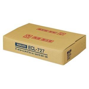 その他 コクヨ 連続伝票用紙(タックフォーム)横15×縦10インチ(381.0×254.0mm)24片 ECL-727 1箱(200シート) ds-2290526