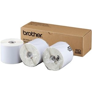 その他 ブラザー RDロール 長尺紙テープ76mm幅×長さ44m RD-S07J2 1パック(3ロール) ds-2290528