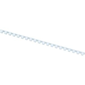 その他 アコ・ブランズプラスチックリング・ワイドバック A4長辺20穴用 直径28mm 白 PR2820A4Z-WH 1箱(50本) ds-2292319