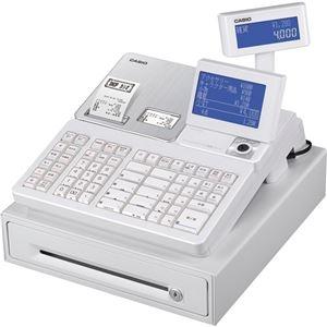 ホワイトSR-S4000-20SWE カシオ 電子レジスター その他 ds-2292328 1台