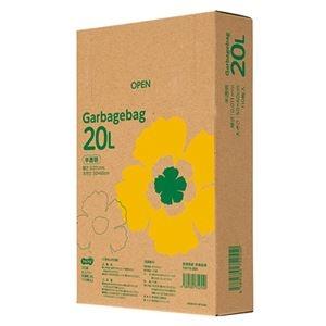 その他 TANOSEE ゴミ袋エコノミー 半透明 20L BOXタイプ 1セット(2200枚:110枚×20箱) ds-2293026