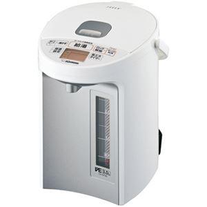その他 象印 マイコン沸とうVE電気まほうびん優湯生 3.0L ホワイト CV-GT30-WA 1台 ds-2293819
