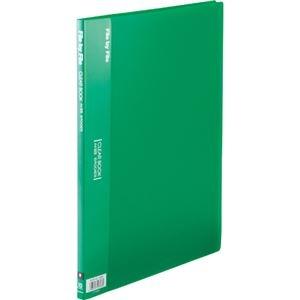その他 (まとめ)ビュートン クリヤーブック A4タテ10ポケット 背幅9mm グリーン BCB-A4-10GN 1セット(10冊)【×5セット】 ds-2296343