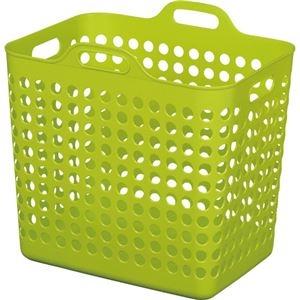 その他 (まとめ)ヒマラヤ化学 ポピンズバスケット 角型L グリーン NO1572G 1個【×5セット】 ds-2297967