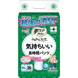 その他 (まとめ)日本製紙 クレシア 肌ケアアクティふんわりフィット 気持ちいい長時間パンツ M-L 1パック(20枚)【×5セット】 ds-2298716