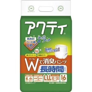 送料無料 その他 まとめ 日本製紙 クレシア アクティWで消臭パンツ 1パック ランキングTOP5 長時間タイプ ×5セット アウトレットセール 特集 16枚 L-LL ds-2298739