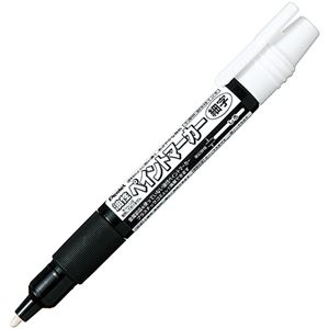 その他 (まとめ)ぺんてる 油性ペン ペイントマーカー細字 白 MSP20-W 1セット(10本)【×5セット】 ds-2298957