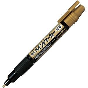 その他 (まとめ)ぺんてる 油性ペン ペイントマーカー細字 金 MSP20-X 1セット(10本)【×5セット】 ds-2298958