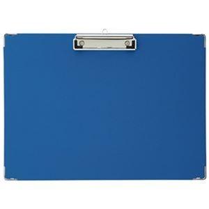 その他 (まとめ)TANOSEE 用箋挟 B4ヨコ ブルー 1枚【×50セット】 ds-2303640