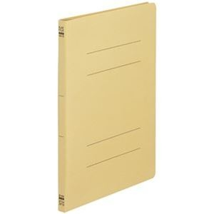 その他 (まとめ)TANOSEE フラットファイル(ノンステープルタイプ)A4タテ 150枚収容 背幅18mm 黄 1パック(10冊)【×50セット】 ds-2304358