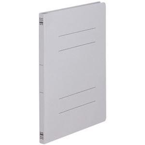 その他 (まとめ)TANOSEE フラットファイル(ノンステープルタイプ)A4タテ 150枚収容 背幅18mm グレー 1パック(10冊)【×50セット】 ds-2304361
