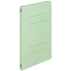その他 (まとめ)TANOSEE フラットファイル(ノンステープルタイプ)A4タテ 150枚収容 背幅18mm 緑 1パック(10冊)【×50セット】 ds-2304362