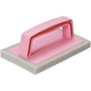 その他 (まとめ)アズマ工業 ブラッシングスポンジお風呂床用 1個【×20セット】 ds-2305407