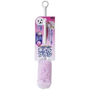 その他 (まとめ)山崎産業 キッチンバスボンくんボトルブラシ ピンク 1本【×20セット】 ds-2305479