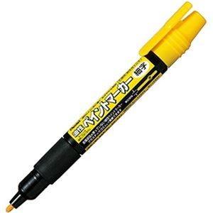 その他 (まとめ)ぺんてる 油性ペン ペイントマーカー細字 黄 MSP20-G 1セット(10本)【×10セット】 ds-2306879