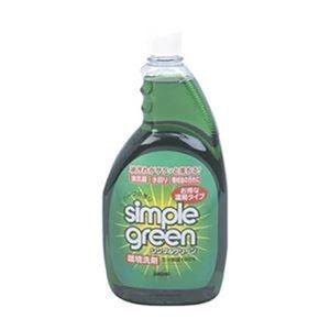 その他 (まとめ)ムラテックKDSシンプルグリーン1L詰替ボトル SGN-1L 1本【×10セット】 ds-2307616