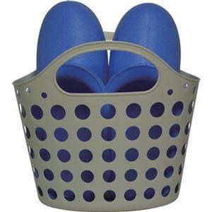 その他 (まとめ)ミツギロン お風呂ブーツ バスケットブルー BT-19B 1個【×10セット】 ds-2307811
