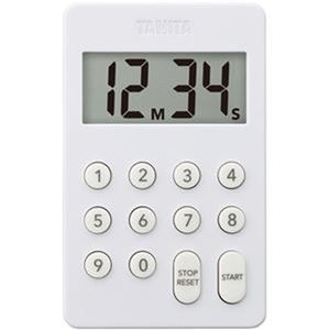 送料無料 その他 毎日がバーゲンセール まとめ タニタ デジタルタイマー100分計ホワイト TD-415-WH 1個 ×10セット ds-2308497