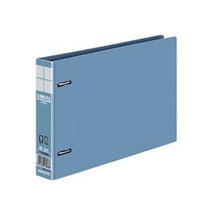 その他 (まとめ)コクヨ DリングファイルE型再生PP表紙 B6ヨコ 2穴 200枚収容 背幅34mm 青 フ-FD428NB 1セット(4冊)【×10セット】 ds-2308668