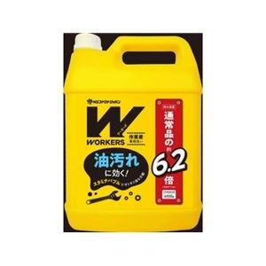 その他 (まとめ) WORKERS 作業着液体洗剤 4500g 【×4セット】 ds-2313616