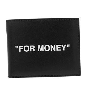 その他 OFF-WHITE(オフホワイト) 2つ折小銭付き財布 OMNC008R20853038 1001 BLACK WHITE ds-2316062