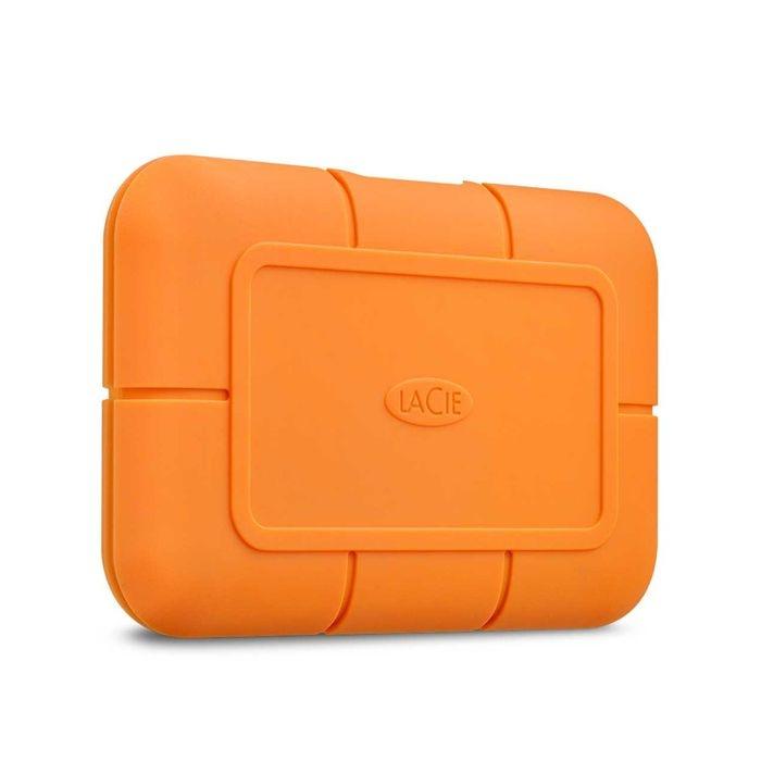 エレコム 外付けSSD Rugged SSD 1TB ポータブル USB3.1 耐衝撃 Type-Cケーブル付 STHR1000800