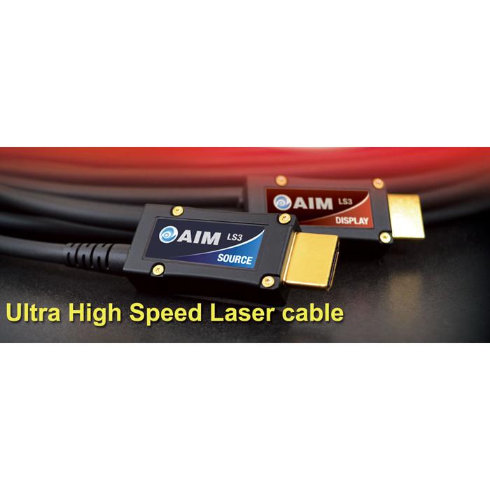 エイム電子 ウルトラハイスピードレーザーケーブル[LS3](黒) LS3-12