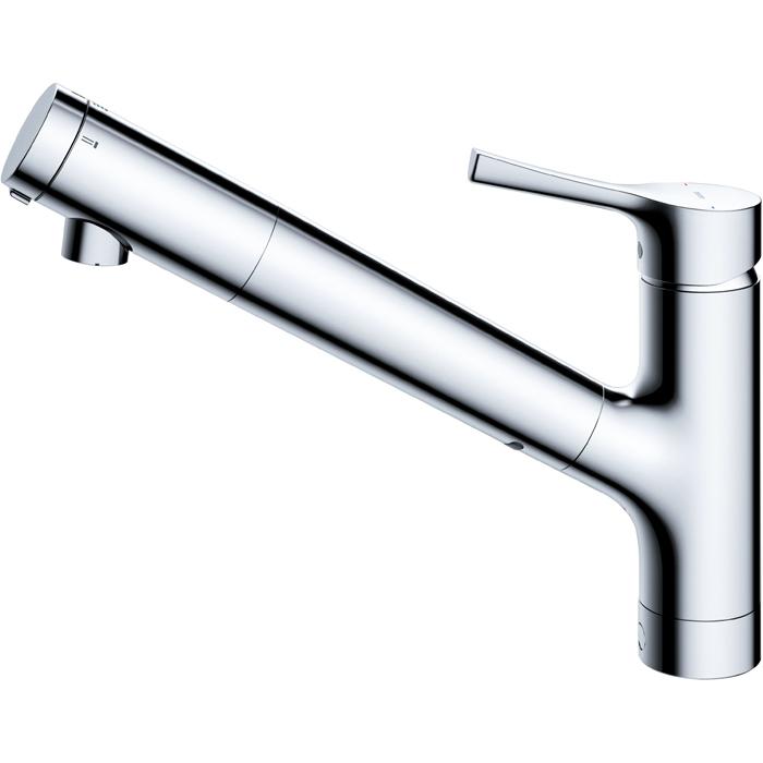 TOTO 台所用シングルレバー混合水栓 浄水機能付ハンドシャワー(一般地用) TKY01303J