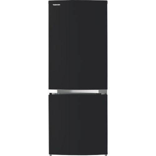 東芝 冷凍冷蔵庫 GR-R15BS-K【納期目安:約10営業日】