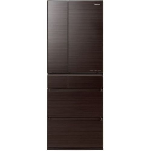 パナソニック 6ドアパーシャル冷蔵庫 (600L・フレンチドア) アルベロダークブラウン NR-F606HPX-T【納期目安:2週間】