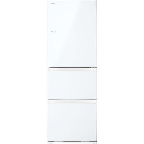 東芝 (EW) 3ドア冷凍冷蔵庫 (363L・右開き) VEGETA(ベジータ) グランホワイト GR-S36SXV-EW【納期目安:約10営業日】