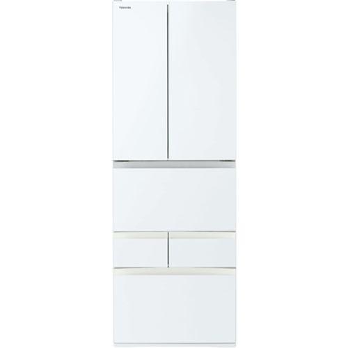東芝 (EW) 6ドア冷凍冷蔵庫 (462L・フレンチドア) VEGETA(ベジータ) FHシリーズ グランホワイト GR-S460FH-EW【納期目安:約10営業日】