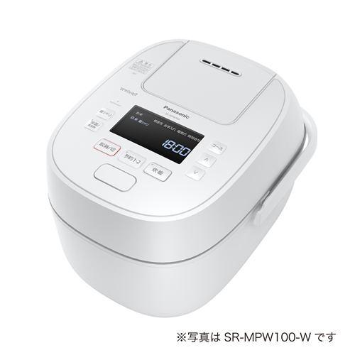 パナソニック IHジャー炊飯器 Wおどり炊き 1升 ホワイト SR-MPW180-W【納期目安:07/1発売予定】