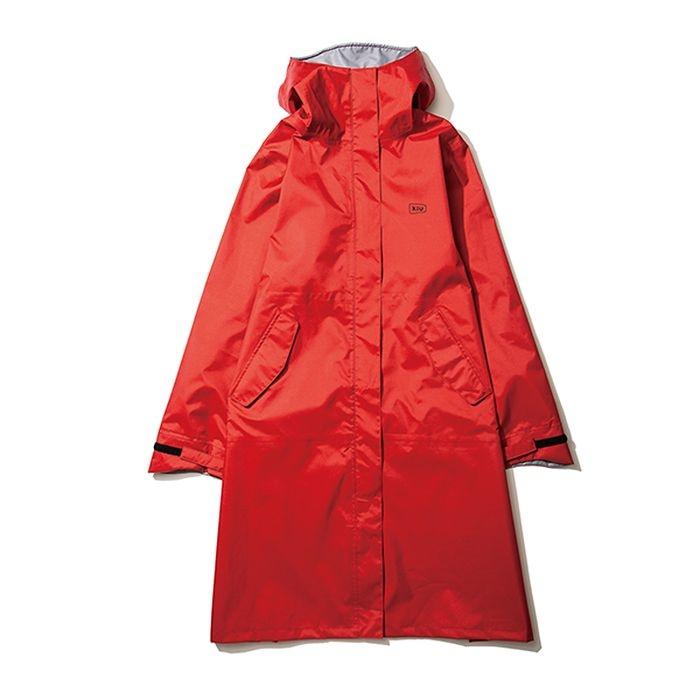 kiu(キウ) レインコート RAIN COAT<MIGHTY>2nd レッド M HH-01744