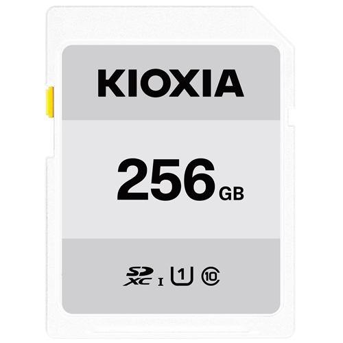 東芝 KIOXIA SDカード EXERIA BASIC 256GB KSDER45N256G【納期目安:1週間】
