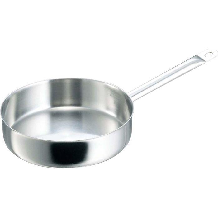 debuyer デバイヤー イノックス 三重底 浅型片手鍋(蓋無)3467-32 EBM-6259900