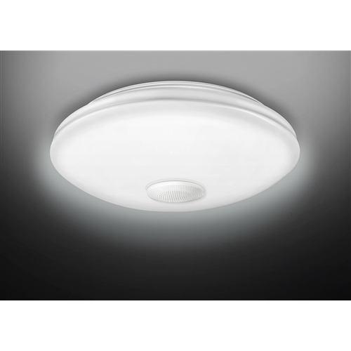東芝 リモコン付きLEDシーリング照明 ~8畳 単色 スピーカー付き NLEH06018A-SDLD