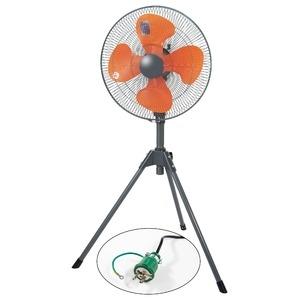 その他 業務用扇風機 工場扇 スタンド型 ポッキンプラグ仕様【代引不可】 ds-2326522