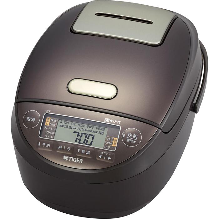 送料無料 数量限定 タイガー 希少 忙しいご家庭に味方する圧力IH炊飯ジャー 遠赤5層土鍋蓄熱コート釜 JPK-G100-T